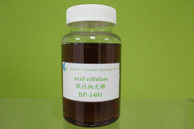 Enzyme de Bio-polissage de cellulase acide