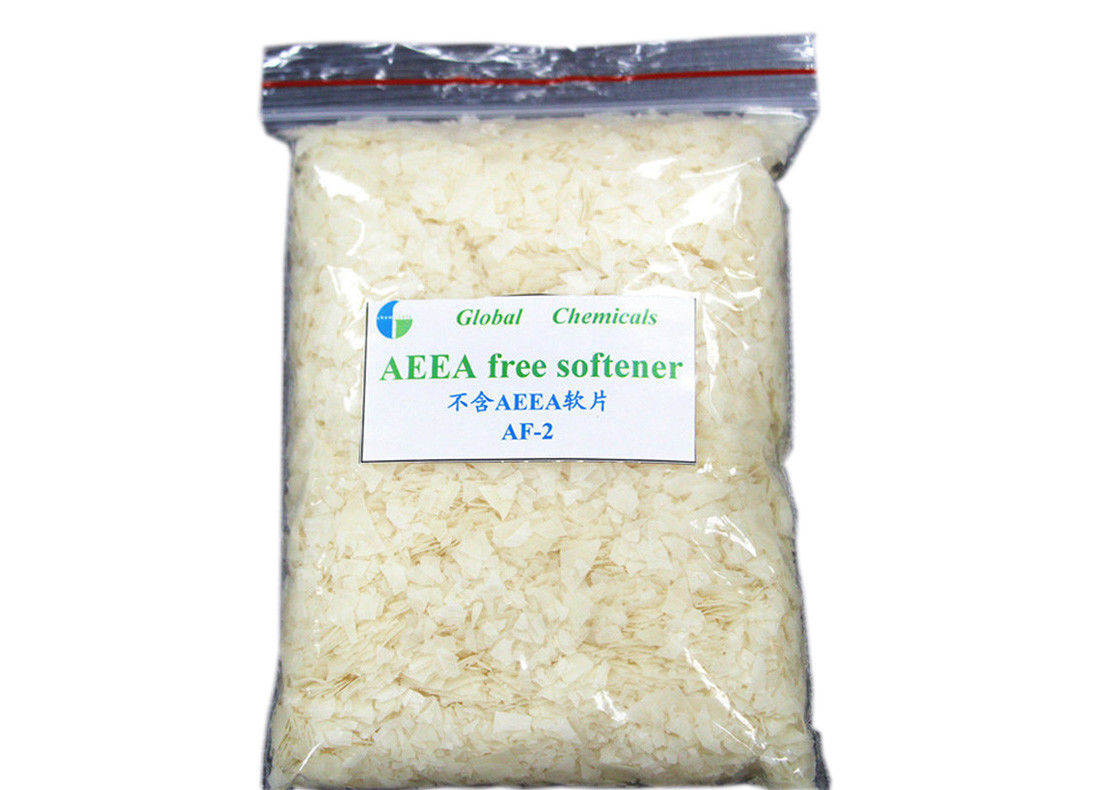 Low Foaming Eco - Friendly Cationic Softeners For Textiles 1 Year Shelf Life